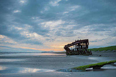 Peter Iredale Photograph - Beauty In The Wreckage by Cade Brown