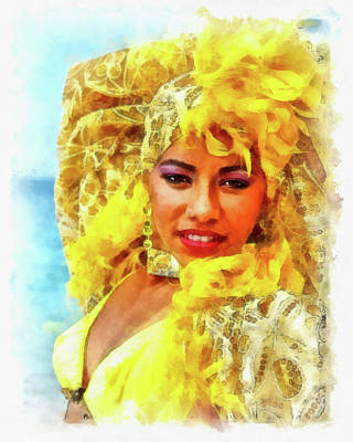 Photograph - Beauty In Yellow by Dawn Currie