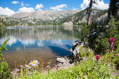 Photograph - Beauty Lake by Gary Beeler