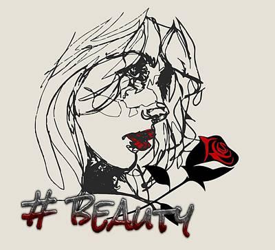 Digital Art - #beauty by Larisa Isaeva