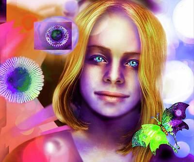 Digital Art - Beauty by Milos Radovanovic and Hartmut Jager