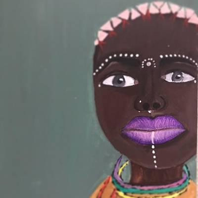 Acrylic Painting - Beauty by NiKita Hill
