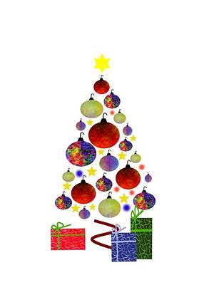 The Trees Mixed Media - Beauty Of Christmas by Kathleen Sartoris