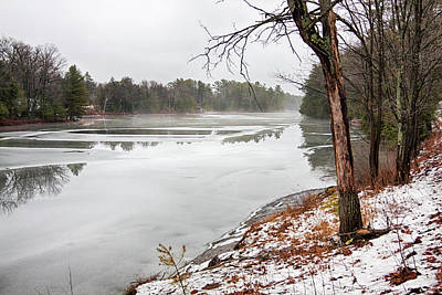 Photograph - Beauty Of December By Muskoka Lakes by Tatiana Travelways