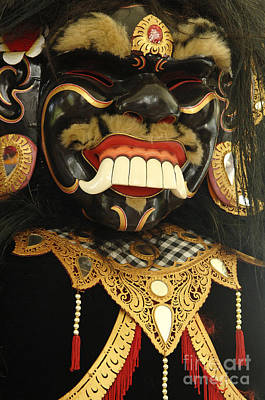 Photograph - Beauty Of Masks Bali Indonesia 4 by Bob Christopher