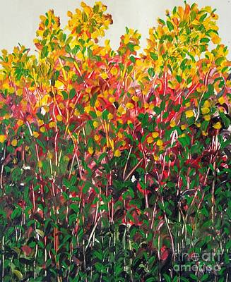 Painting - Beauty Of Nature by Usha Rai