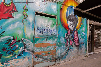Cyprus Photograph - Beauty Of Street Art On Pythonos Street by Iordanis Pallikaras