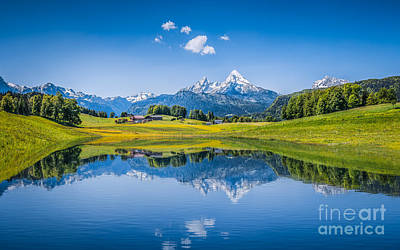Photograph - Beauty Of The Alps by JR Photography