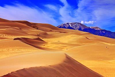 Beauty Of The Dunes Art Print by Scott Mahon