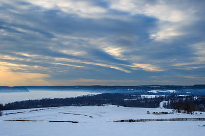 Susquehanna River Photograph - Beauty Of Winter by Troy Snider