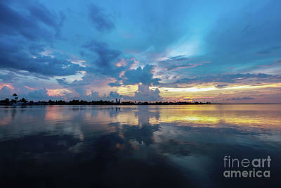Beauty Over The Water Art Print
