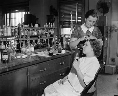 Photograph - Beauty Parlor, 1937 by Granger
