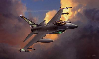Jet Digital Art - Beauty Pass by Dale Jackson