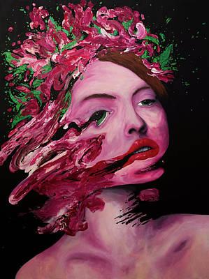 Painting - Beauty Queen by Daniel Hannih