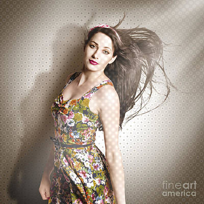 Photograph - Beauty Salon Pinup by Jorgo Photography - Wall Art Gallery
