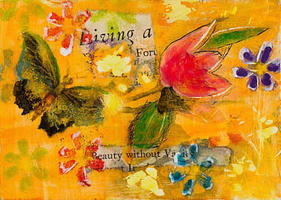 Mixed Media - Beauty Without Vanity by Dawn Boswell Burke