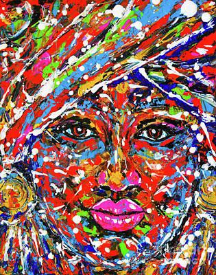 Painting - Beauty by Zaira Dzhaubaeva