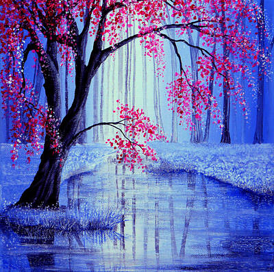 Sakura Painting - Beauty's Blossom by Ann Marie Bone