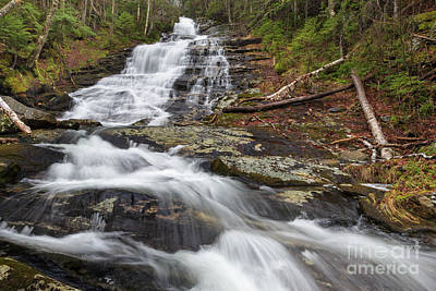 Photograph - Beaver Brook Cascades - Kinsman Notch New Hampshire by Erin Paul Donovan