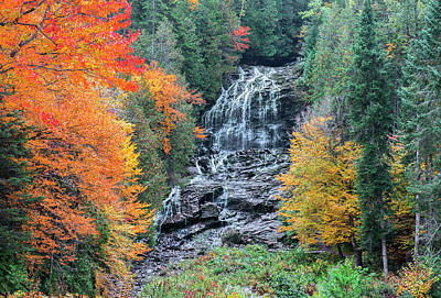 Photograph - Beaver Brook Falls by Gordon Ripley