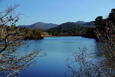 Photograph - Beaver Lake View by Allen Nice-Webb