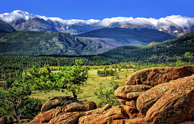 Photograph - Beaver Meadows In Rocky Mountain National Park by Carolyn Derstine
