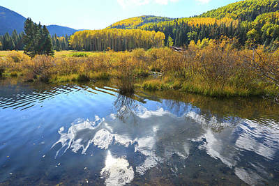 Photograph - Beaver Pond, Red River Nm by Jim Arnold
