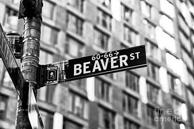 Photograph - Beaver Street by John Rizzuto