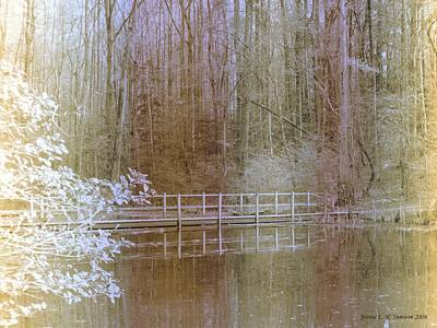 Photograph - Beaverdam Bridge by Jennie  Richards