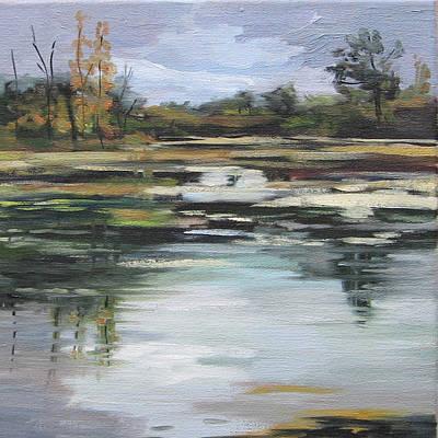 Painting - Beaverdams - Niagara Falls Autumn by J R Baldini