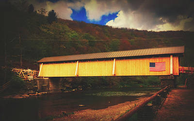Photograph - Beaverkill Covered Bridge by Pixabay