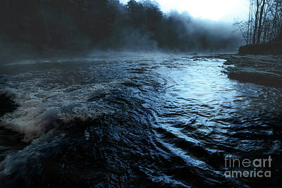 Photograph - Beaver's Bend Fog by Tamyra Ayles