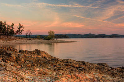 Beavers Bend Sunrise Art Print