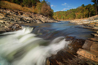 Photograph - Beavers Bend Vii by Ricky Barnard