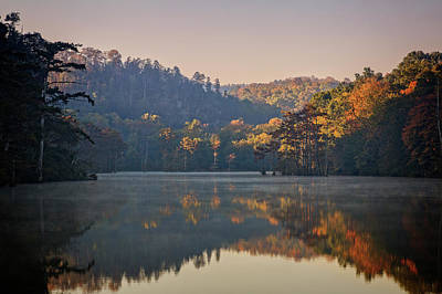 Photograph - Beavers Bend Viii by Ricky Barnard