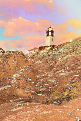 Photograph - Beavertail Looking Surreal by J Michael Nettik