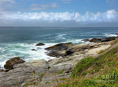 Photograph - Beavertail Point Jamestown Rhode Island by Michelle Constantine