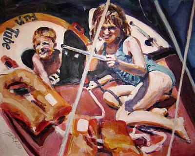 Painting - Becalmed by Chuck Berk