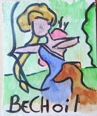 Painting - Bechoil by Loretta Nash
