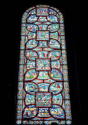 Photograph - Becket Miracle Window by Shaun Higson