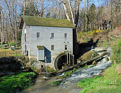 Washington Indiana Photograph - Beck's Mill, Indiana by Steve Gass