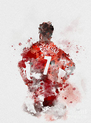 Beckham Mixed Media - Becks by Rebecca Jenkins