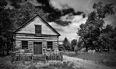 Photograph - Beckwourth Cabin by Mick Burkey