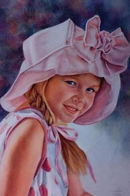 Becky Art Print by Ann Peck