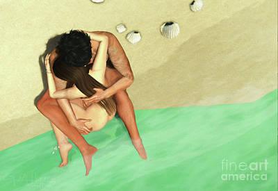 Digital Art - Becoming One by Georgina Hannay