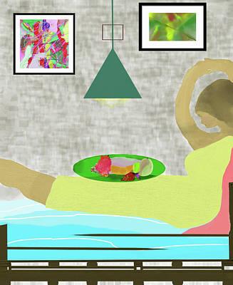 Digital Art - Bed And Breakfast by SC Heffner