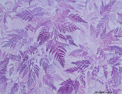 Painting - Bed Of Ferns by DK Nagano