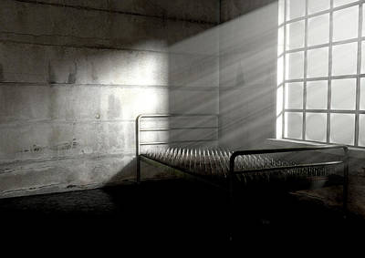 Delapidated Digital Art - Bed Of Nails In A Room by Allan Swart