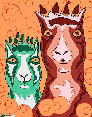 Bedazzled Llamas Original