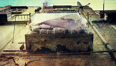 Photograph - Bedclothes by Vittorio Chiampan